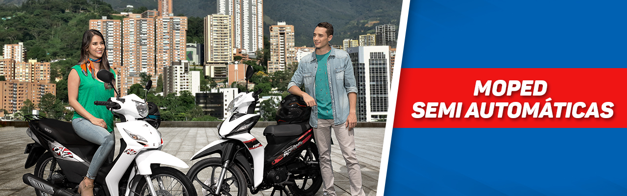 Banner Moped y Semiautomatica
