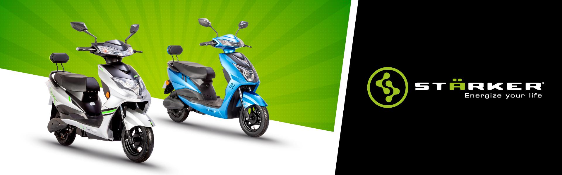 Banner Motos y bicicletas Starker