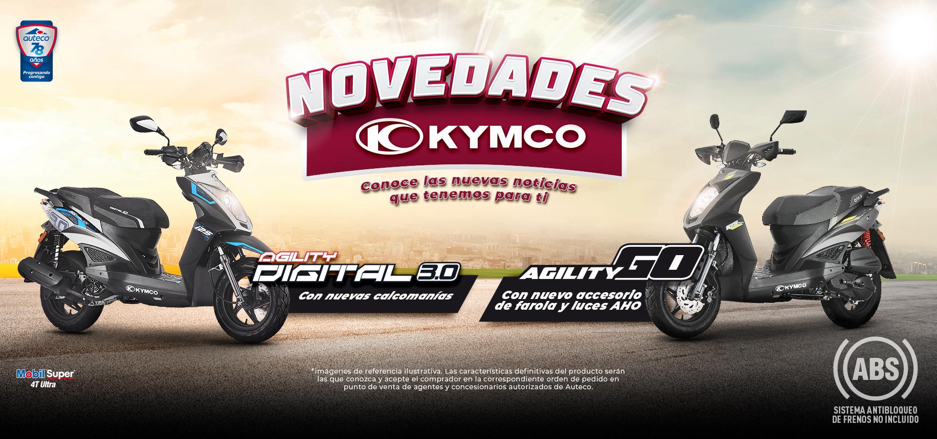 Novedades Kymco