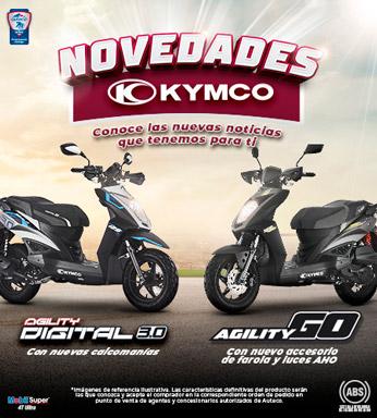Novedades Kymco Mobile