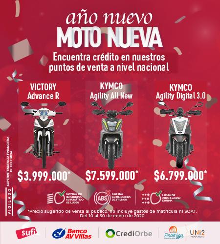 Año nuevo moto nueva mobile