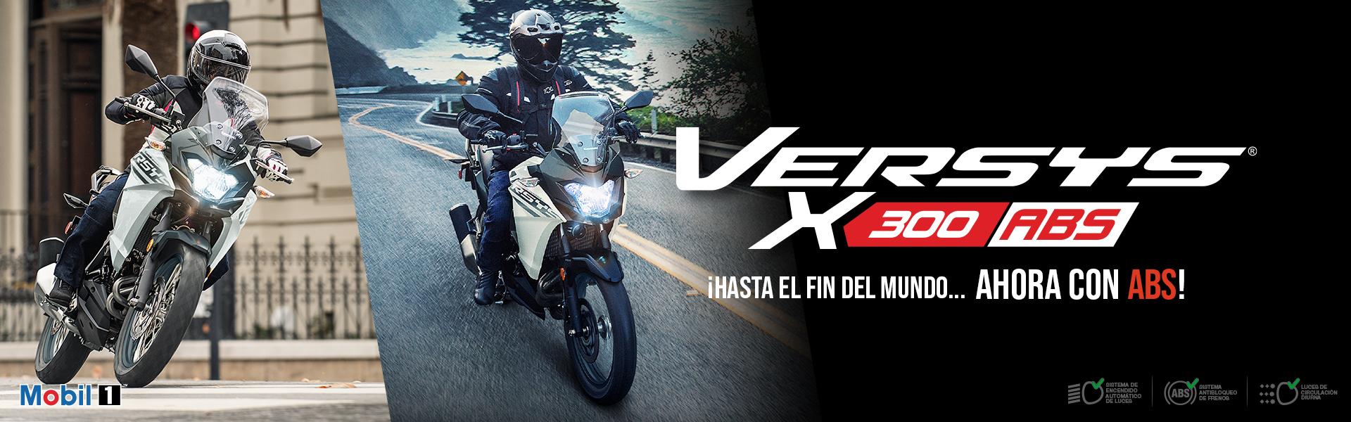 Versys X300 Camo