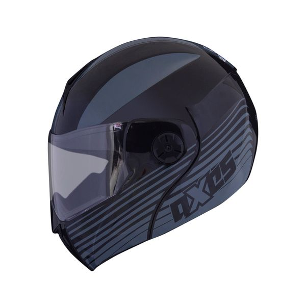 CASCO_ABATIBLE_AXXES_BLEND_GRIS_NEGRO_Foto1