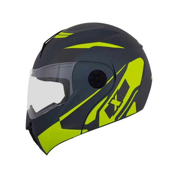 casco_abatible_axxes_space_negro_verde_neon_mate_foto1