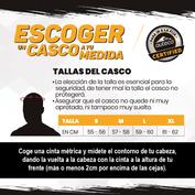 Talla-Cascos