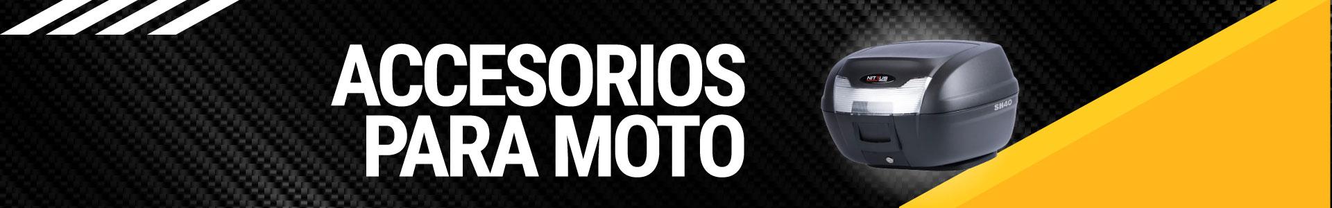 Banner accesorios para moto