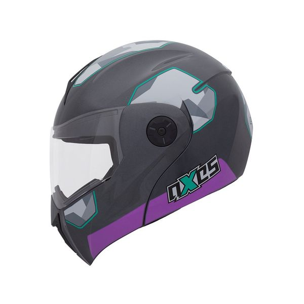 casco_abatible_axxes_lite_mate_gris_purpura_foto_1