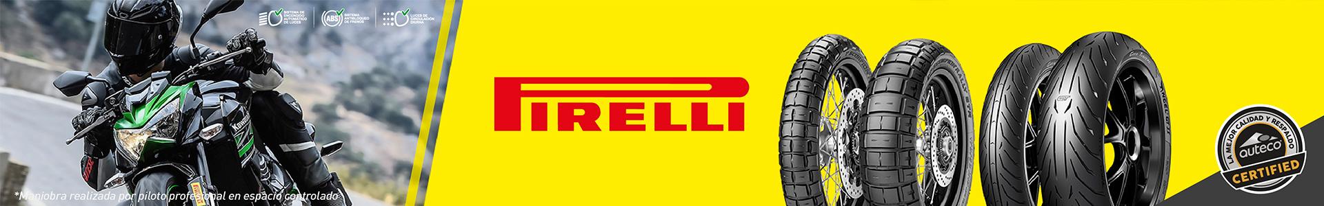 Banner Llantas Pirelli